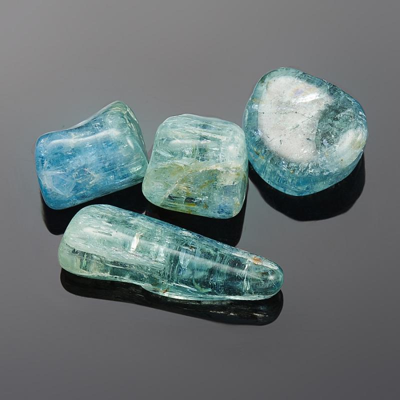 Аквамарин галтованный кристалл  Шерловая Гора (1-1.5 см) 1 шт