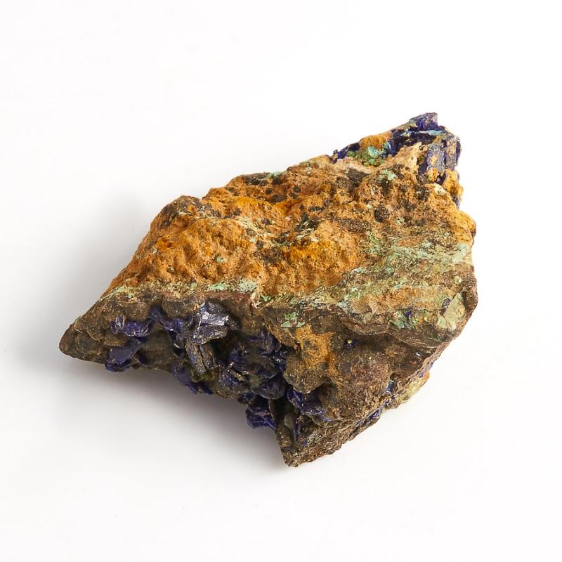 Образец азурит с малахитом  (Башкирия) XXS 29х18х12 мм