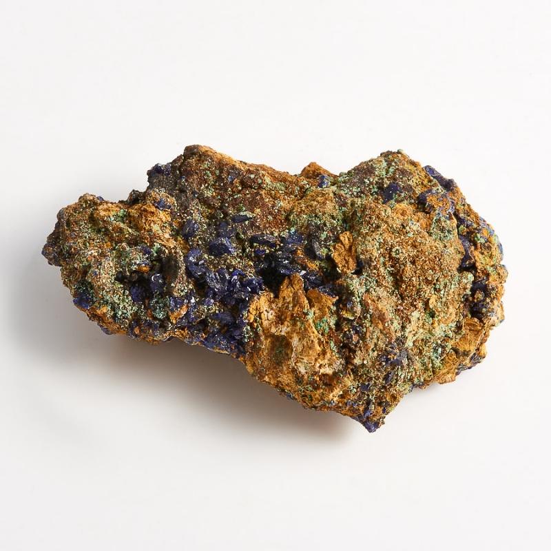 Образец азурит с малахитом  (Башкирия) XS 43х28х15 мм
