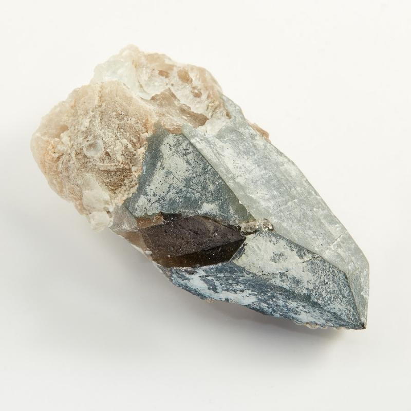 Кристалл морион с топазом  S 20х28х54 мм