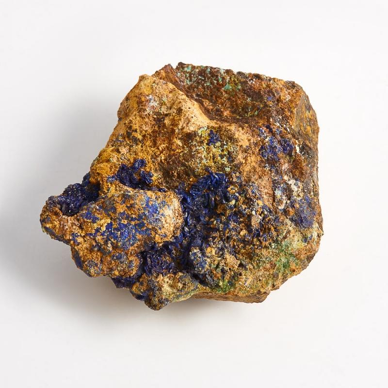 Образец азурит с малахитом  (Башкирия) XS 42х40х17 мм