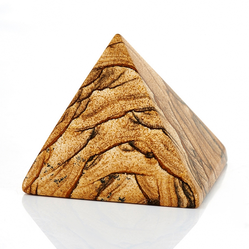 Пирамида яшма рисунчатая 5 см шар яшма рисунчатая 5 см