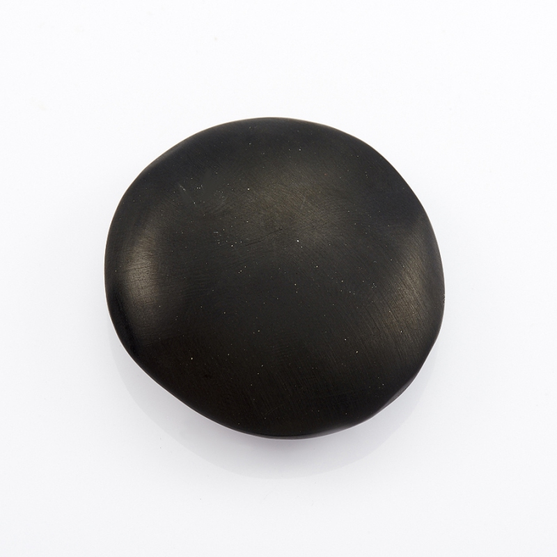 Галтовка Гагат матовый Грузия (4 см) 1 шт
