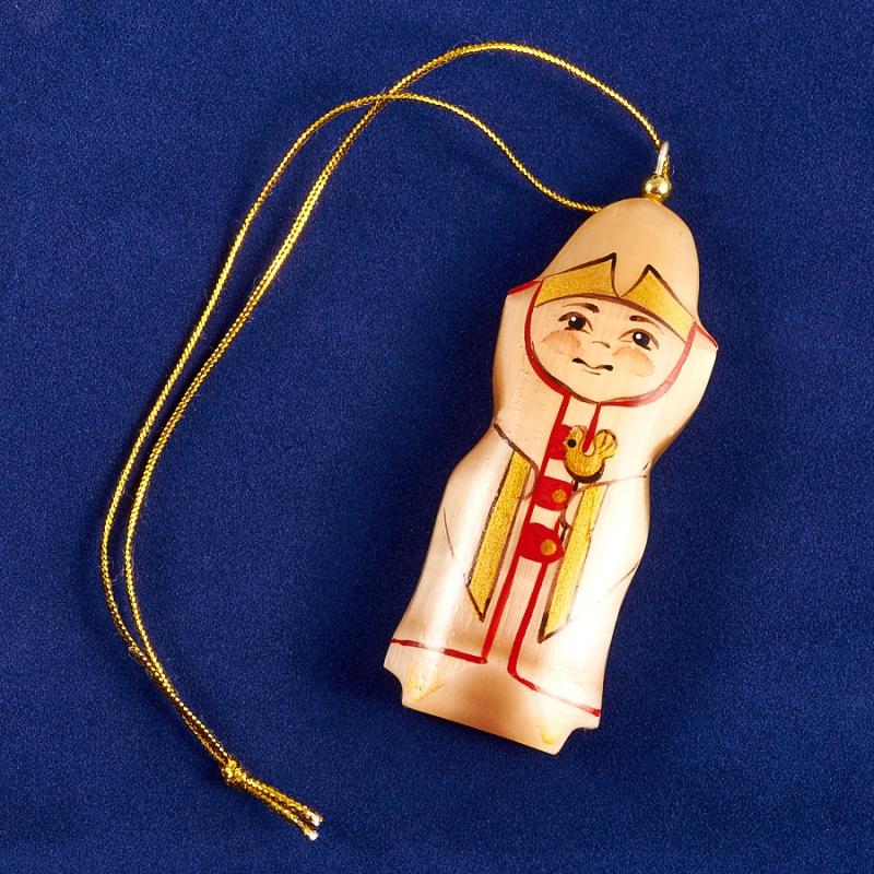 Елочная игрушка Боярский сын селенит  75х27х14 мм
