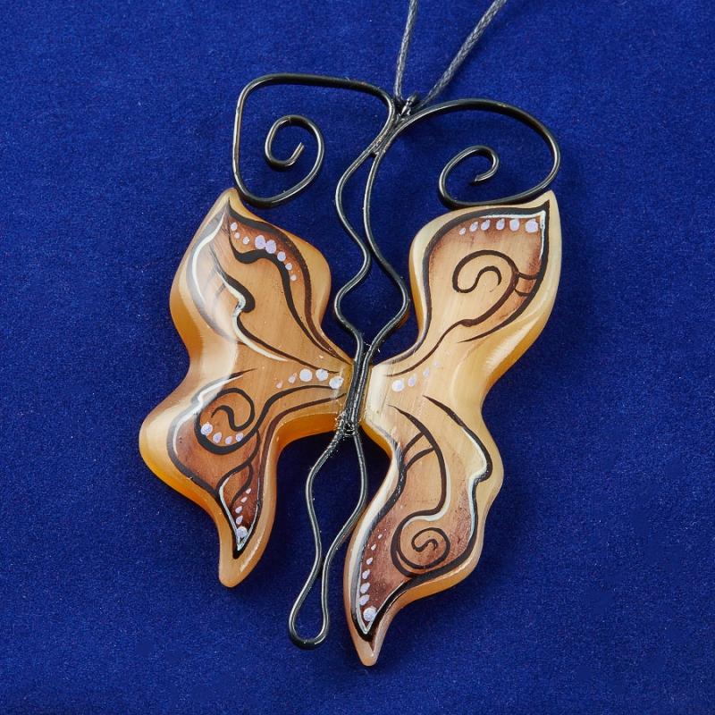 Кулон Бабочка ажурная золотая тёмная селенит 7,5 см infrared ear thermometer