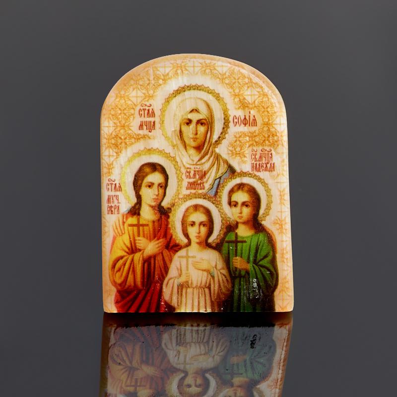 Изображение селенит Вера, Надежда, Любовь и мать их София 6 см витамина мятная нло – надежда любовь одиночество