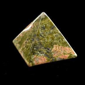 Пирамида из унакита 4х4 см.