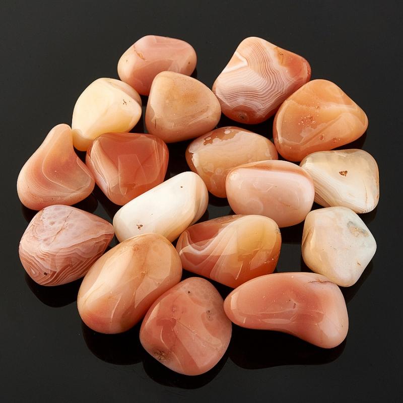 Галтовка агат абрикосовый (1,5-2 см) 1 шт