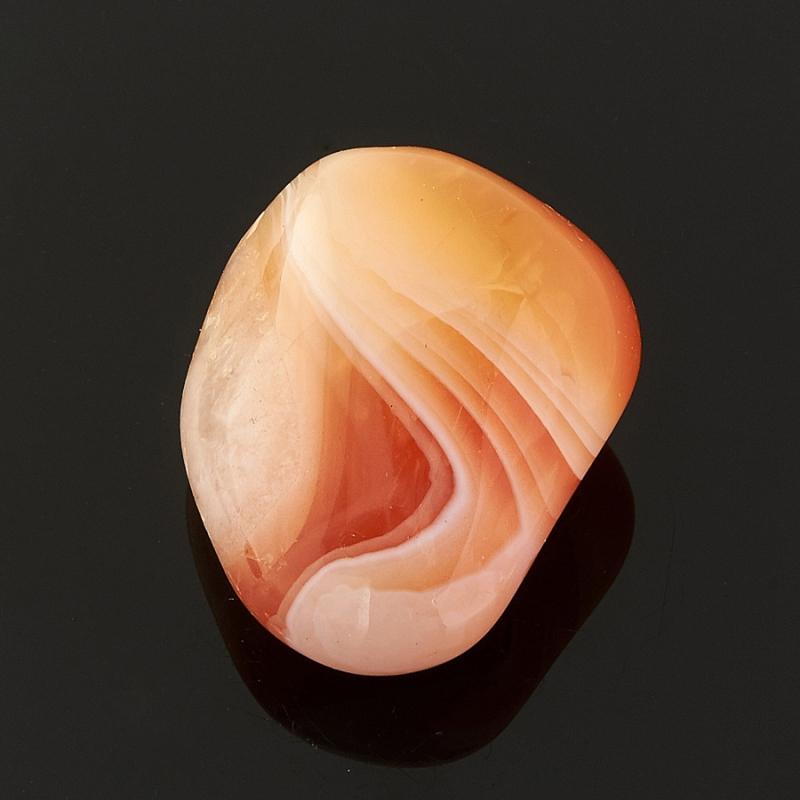 Галтовка агат абрикосовый Ботсвана (1,5-2 см) 1 шт