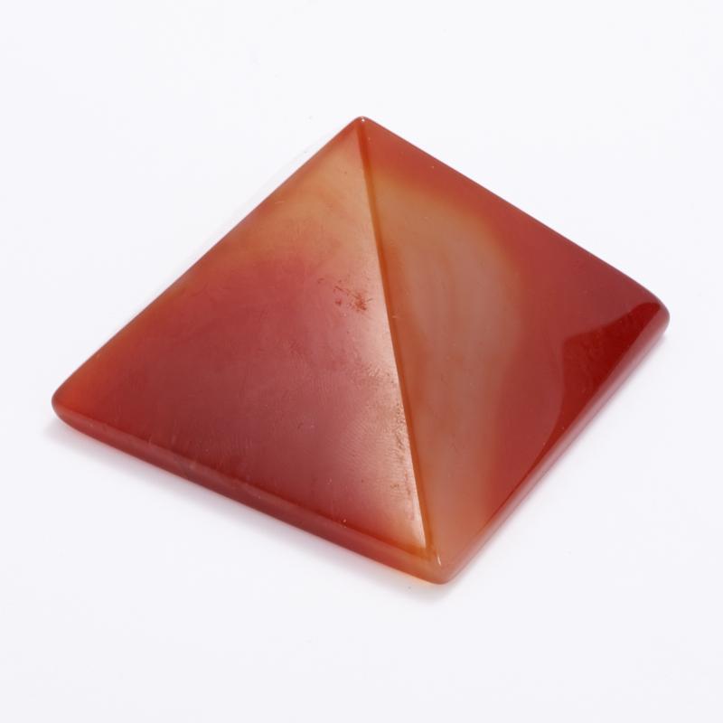 Пирамида сердолик Ботсвана 5 см (1 шт)