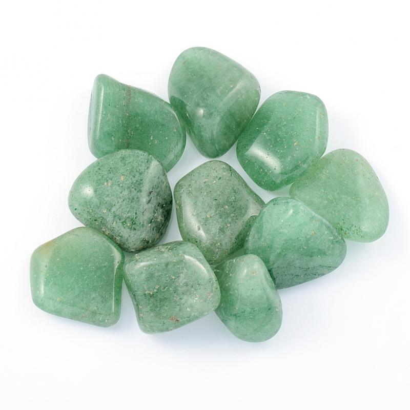 Авантюрин зеленый  (1,5-2 см) 1 шт бусина авантюрин зеленый сплюснутый шар 6 6 5 мм 1 шт