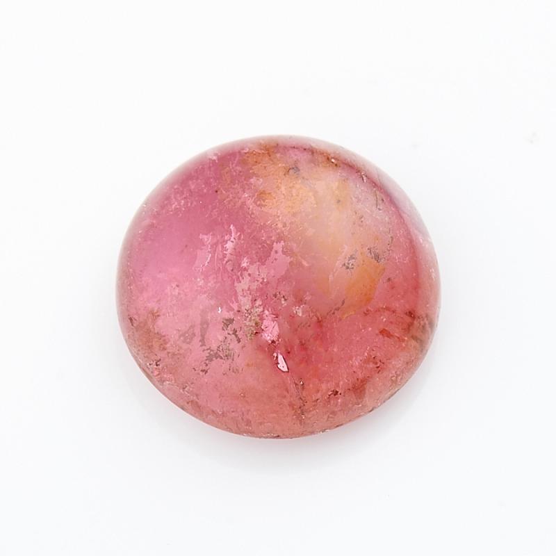 Кабошон турмалин розовый (рубеллит)  8 мм кабошон турмалин розовый 19 34 мм