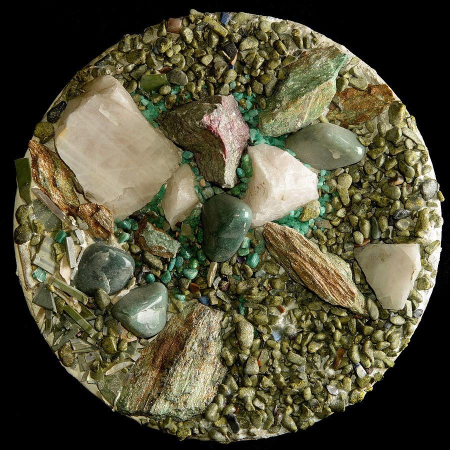вводить картинка ящерицы на стене из натурального камня работе ним рождает