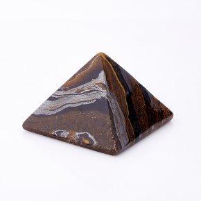 Пирамида тигровый глаз ЮАР 5 см