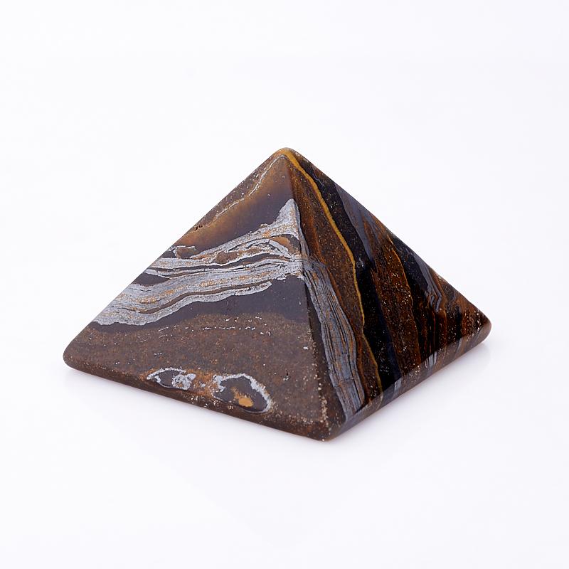 Пирамида тигровый глаз 5 см