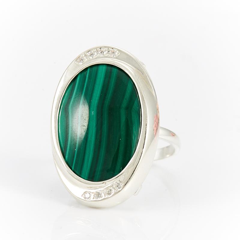 Кольцо малахит  (серебро 925 пр.)  размер 18,5 кольцо авантюрин зеленый серебро 925 пр размер 18