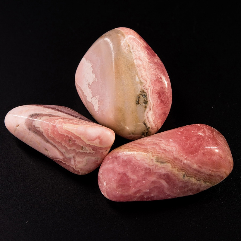 Галтовка Родохрозит Аргентина (2-2,5 см) 1 шт