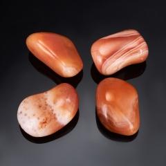 Галтовка Сердолик полосчатый Ботсвана (2,5-3 см) 1 шт