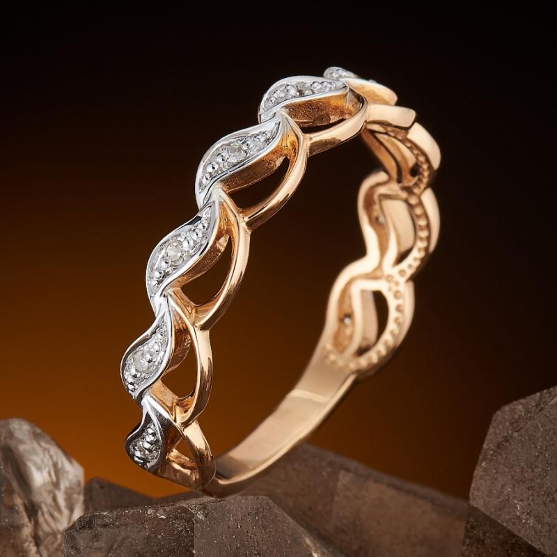 Кольцо бриллиант Россия огранка (золото 585 пр.) размер 20