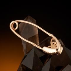Булавка бриллиант Россия (золото 585 пр.)