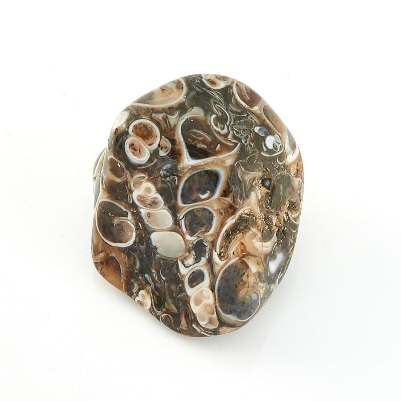 Галтовка Агат черепаховый США (1,5-2 см) 1 шт
