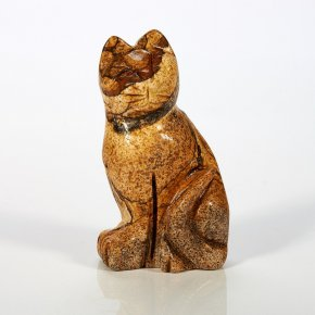 Котик яшма рисунчатая 5 см