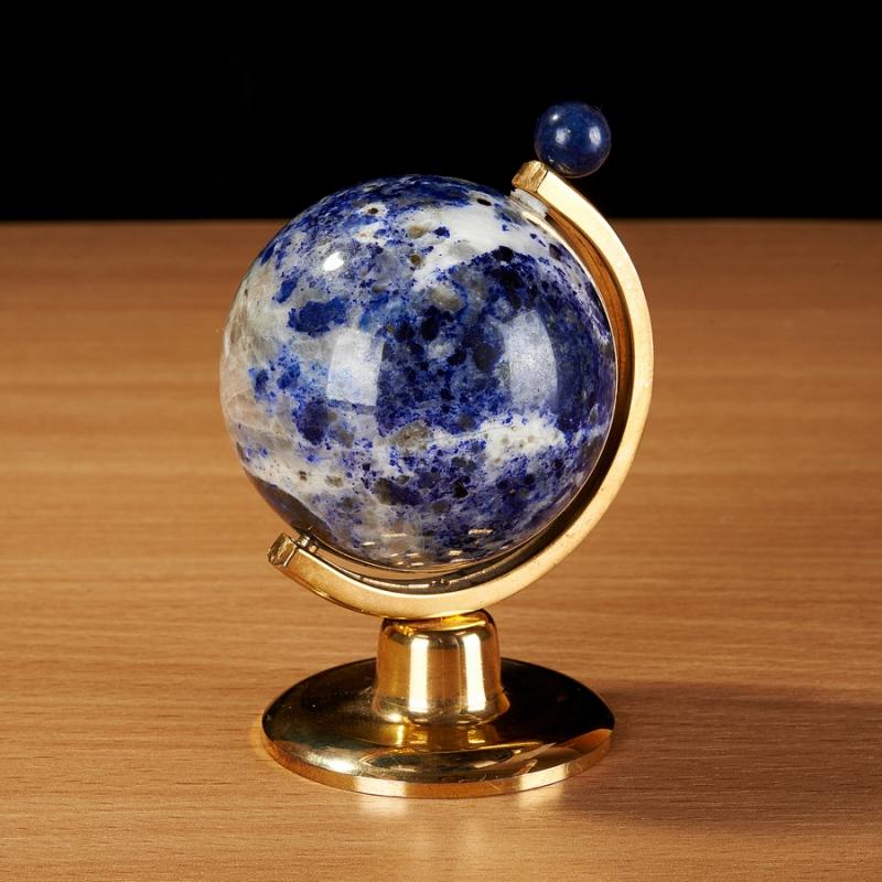 Глобус из лазурита 8,5 см