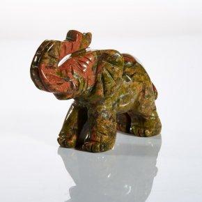 Слон из унакита (5 см)