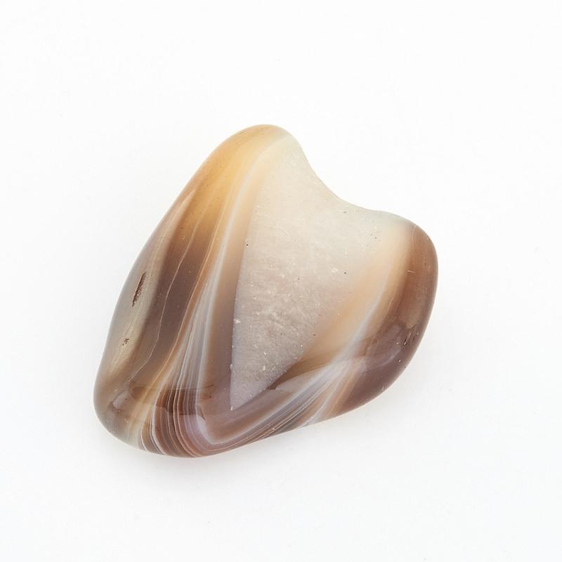 Галтовка агат серый Ботсвана (2,5-3 см) 1 шт