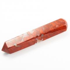 Массажная палочка яшма красная ЮАР 8-10 см