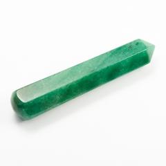 Массажная палочка авантюрин зеленый Зимбабве 8-10 см