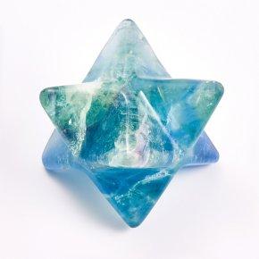Меркаба флюорит зеленый Китай 3 см