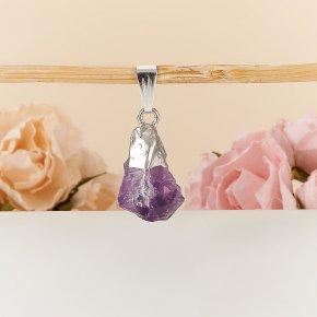 Кулон-кристалл аметист Бразилия 1,5-3 см