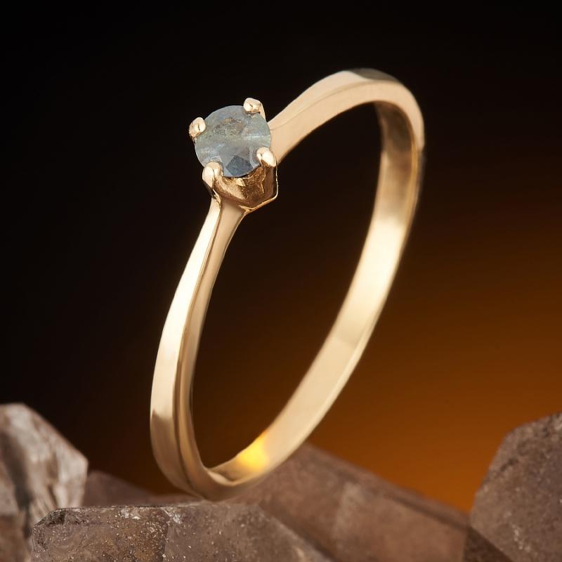 Кольцо александрит  огранка (золото 585 пр.) размер 17,5