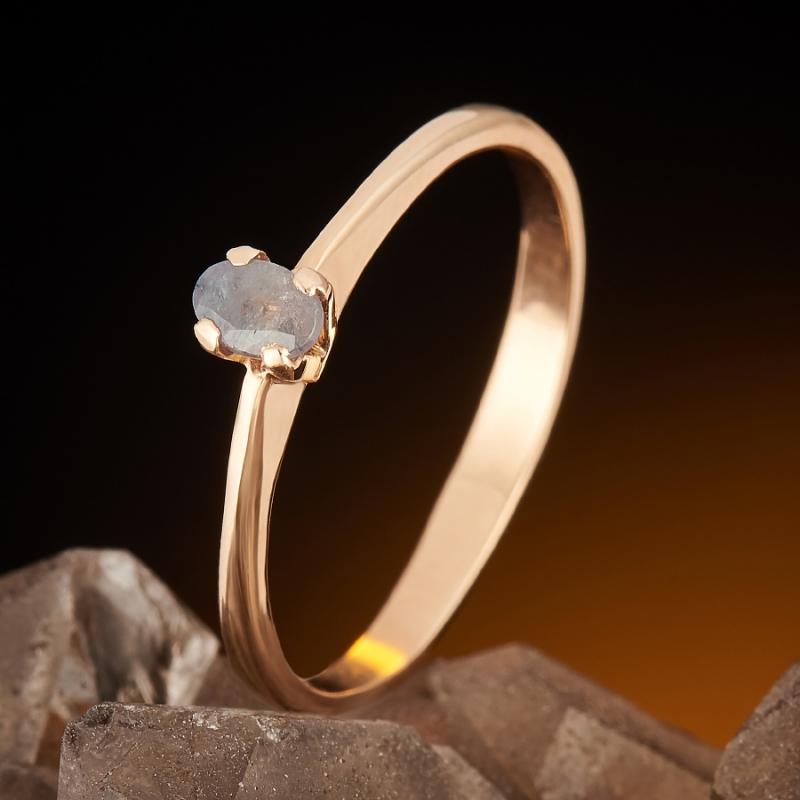 Кольцо александрит  огранка (золото 585 пр.) размер 17