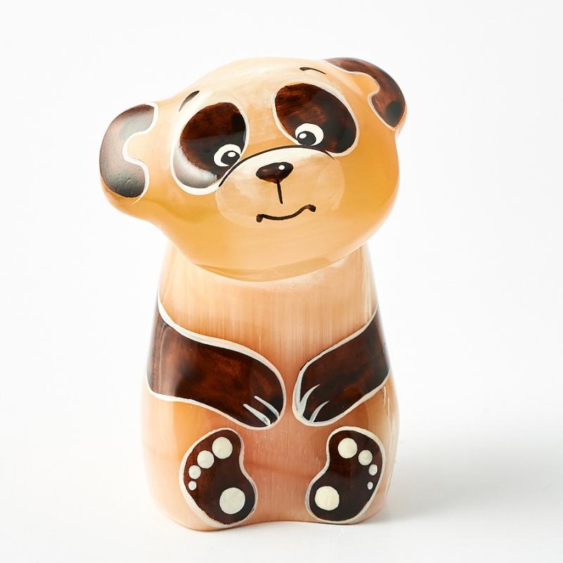 Панда селенит  7 см статуэтка снегурочка селенит 7 см