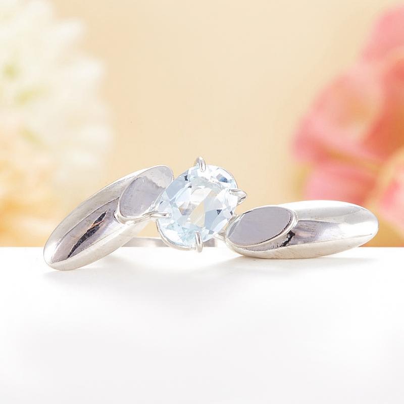 Кольцо топаз огранка (серебро 925 пр.) размер 18 кольцо коюз топаз кольцо т148011522