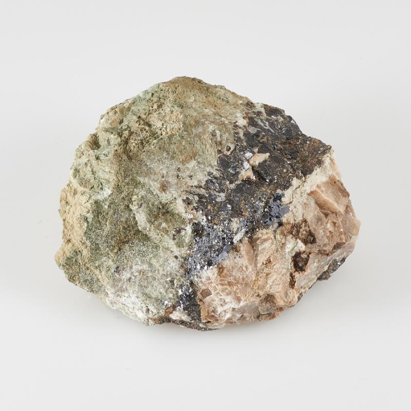 Образец геденбергит, сфалерит, галенит  S 31х57х68 мм 68 pgm11033 31