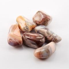 Галтовка агат розовый Ботсвана (3-4 см) 1 шт