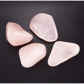 Розовый кварц прозрачный Намибия (1,5-2 см) 1 шт