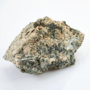 Образец титанит (сфен), пектолит, эгирин, микроклин Россия М 58х61х99 мм