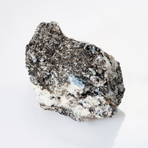 Образец кианит, кварц, слюда Россия S 24х43х67 мм