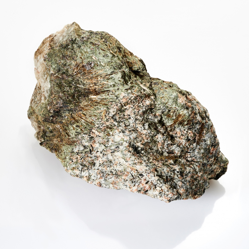 Образец астрофиллит, кварц  М