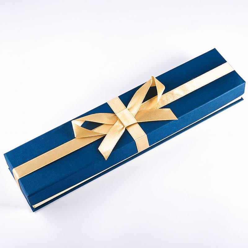Фото Подарочная упаковка под цепь/браслет 240х55х30 мм