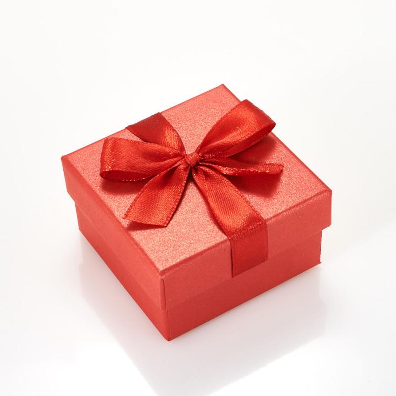 "Подарочная упаковка под комплект (кольцо, серьги, кулон) 55х55х30 мм ООО ""Карелшунгит"""