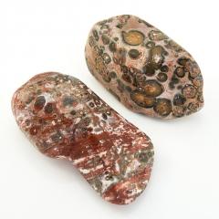 Галтовка Яшма леопардовая Мексика (3-3,5 см) 1 шт