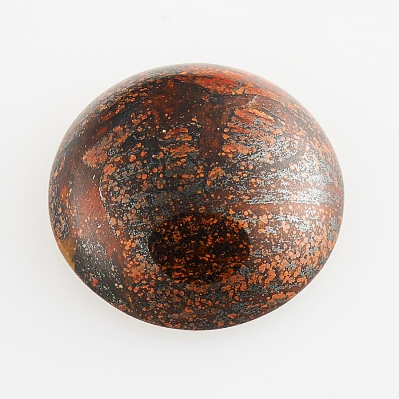 Кабошон яшма брекчиевая  12 мм