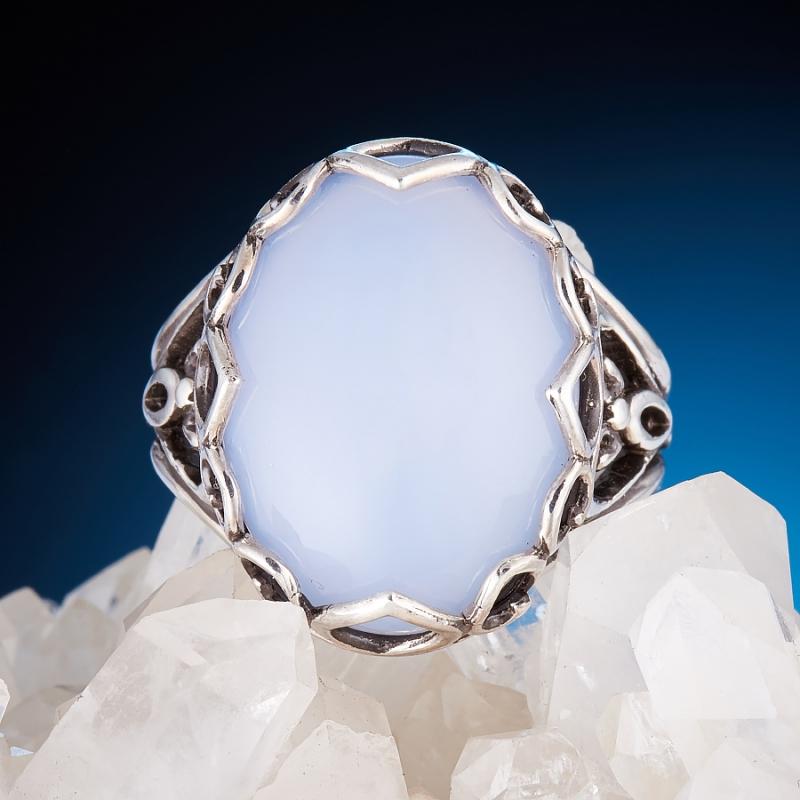 [del] Кольцо агат Намибия (серебро 925 пр.)  размер 17