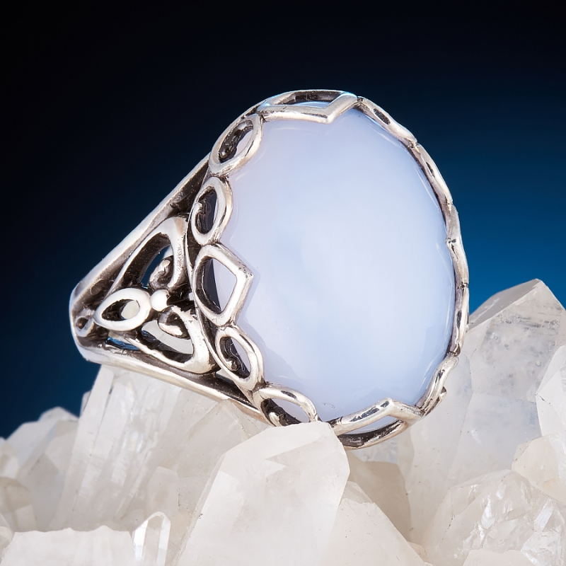 [del] Кольцо агат Намибия (серебро 925 пр.)  размер 21