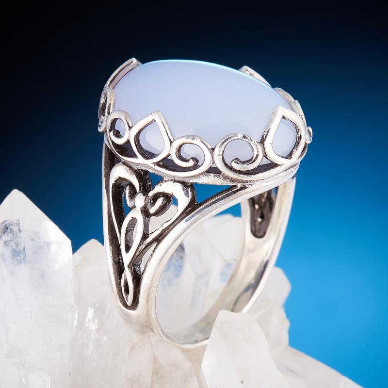 [del] Кольцо агат Намибия (серебро 925 пр.)  размер 21,5